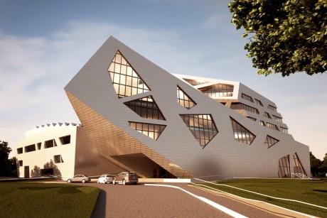 Ontwerp voor een nieuwe ub in Lüneburg