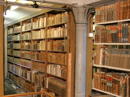 Magazijn universiteitsbibliotheek Greifswald, gesticht in 1456