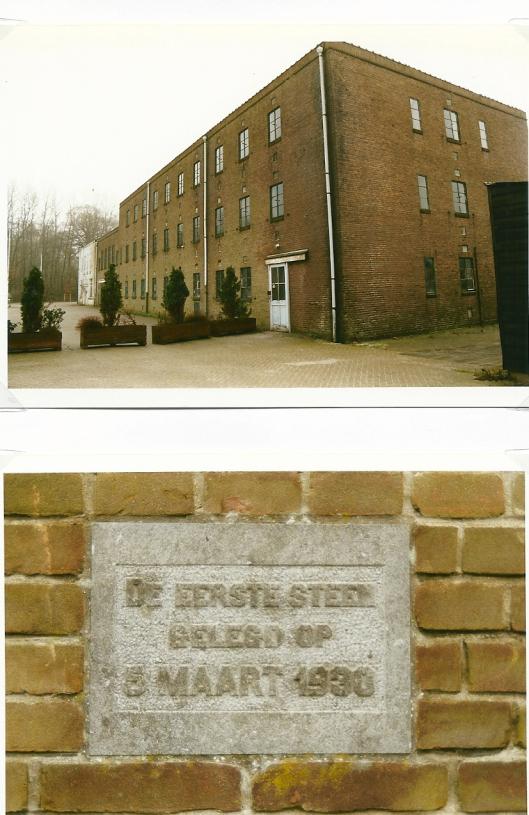 Gebouw en eerste steen van de uitbreiding geplaatst in 1930