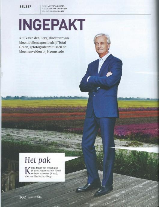 Bloembollenexporteur Kuuk van den Berg, in: Juist, nummer 12, oktober 2014.