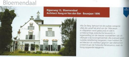 Rijperweg 15, Bloemendaal. Uit: Wim Post, De monumenten van de gemeente Bloemendaal.