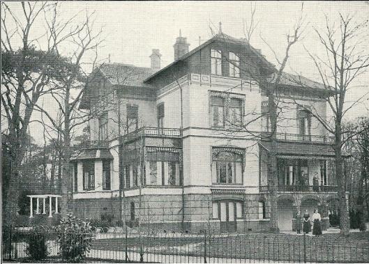 Villa 'Eugenie', Bloemendaalse Park (J.van den Ban)