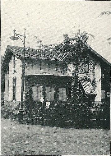 Villa 'Nooit gedacht', Bloemendaalse Park (J.van den Ban)