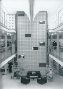 Interieurfoto van stadsbibliothek Bremen