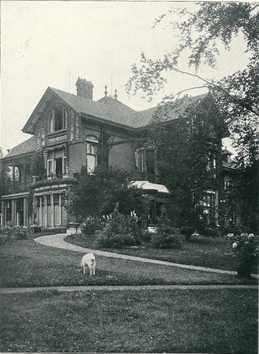 Villa 'Louise State', Duin en Daal, Bloemendaal (J.van den Ban)