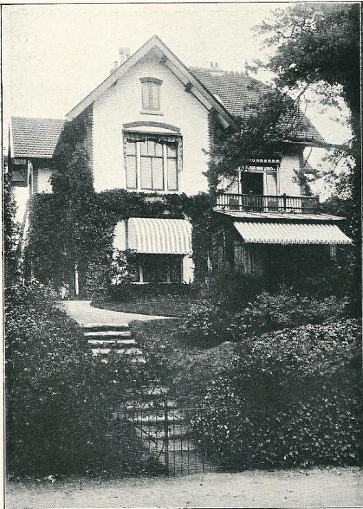 Villa, Parkweg 3, Bloemendaal (J.van den Ban)