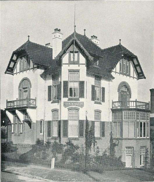 Villa 'Buen Retiro', Bloemendaalseweg 117, Bloemendaal (J.van den Ban)