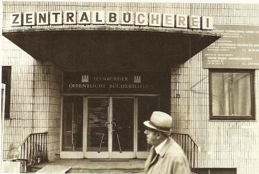 De hamburgse Zentralbücherei was van 1971 tot 1986 gevestigd aan het Gerdtrudenkirschhof