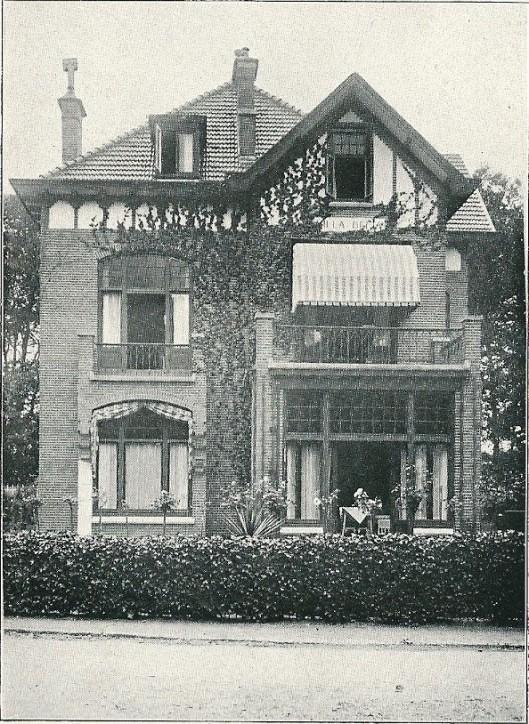 Villa 'Delta', Rijperweg 1, Bloemendaal (J.van den Ban)