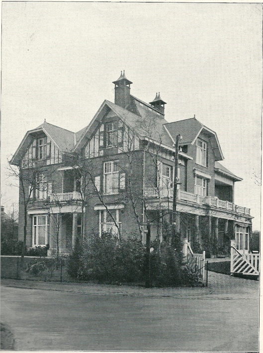 Villa 'Maria', Doodweg, nu mr.H.Enschedéweg, Aerdenhout (J.van den Ban)