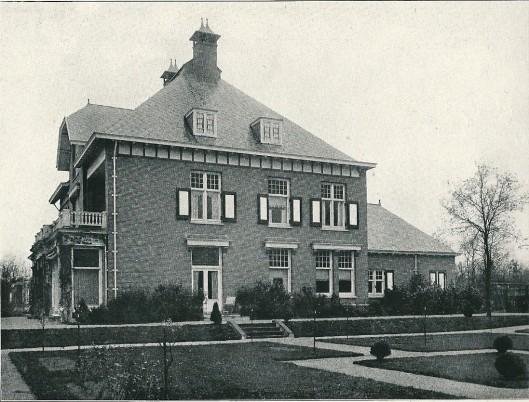 Zijgevel villa 'Maria', Aerdenhout (J. van den Ban)