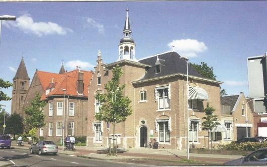 Oude raadhuis van Schoten, ontworpen door J.van den Ban (foto Frank van der Wijden, 2002. Noord-Hollands Archief)