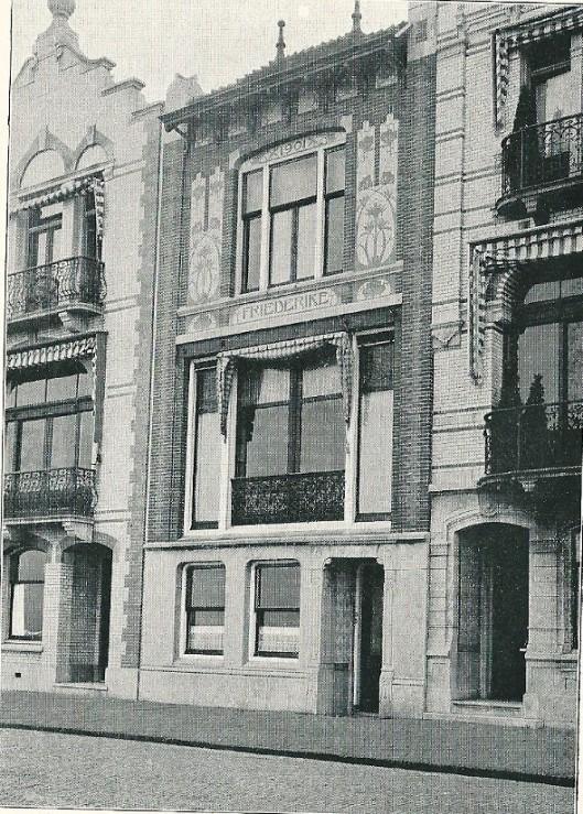 Woonhuis 'Friedericke', Boulevard de Favauge te Zandvoort