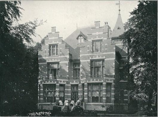 Villa 'Lommerrijk', Wilhelminalaan Heemstede, ontworpen door J.van den Ban