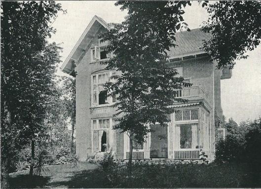 Villa 'Eikenhof', Herenweg Heemstede (J.van den Ban)