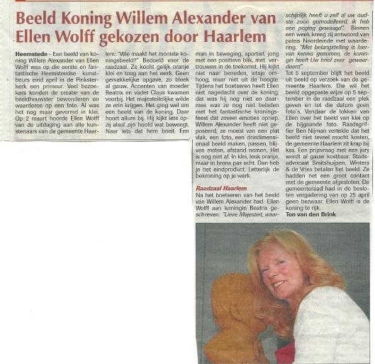 Artikel van Ton van den Brink uit de Heemsteder van 22 mei 2013
