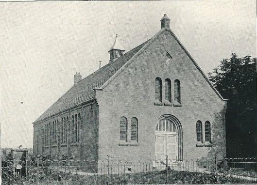 Kerkgebouw van de Protestantenbond te Hoofddorp (J.van den Ban)