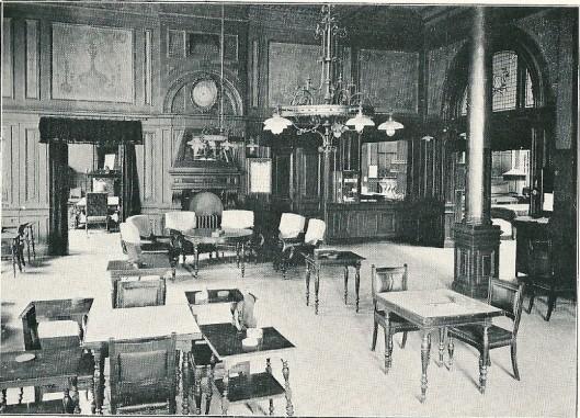 Conversatiezaal in vm. Sociëteitsgebouw 'Vereenging' te Haarlem