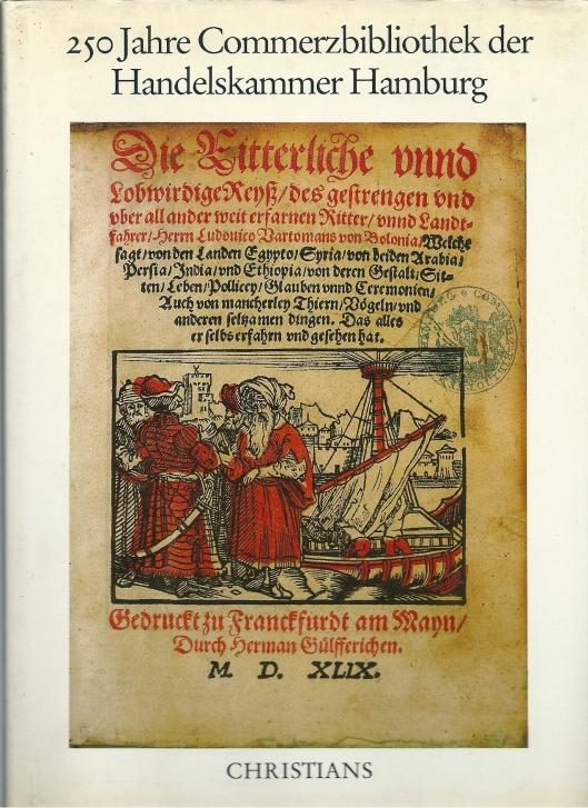 Bij het 250-jarig bestaan van de Handelsbibliotheek in Hamburg in 1985 verscheen een kloek boekwerk over de historie
