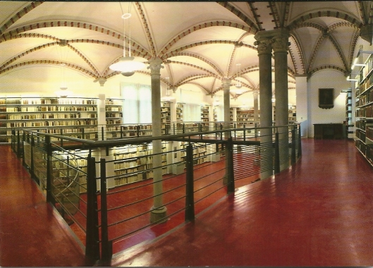 Bibliothek der Hansestadt Lübeck. Mantelssaal, 1879