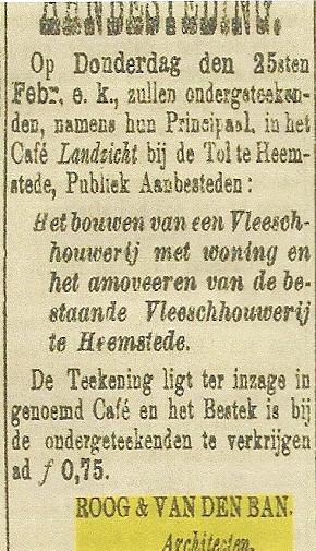 Uit: Haarlem's Dagblad van 18 februari 1897