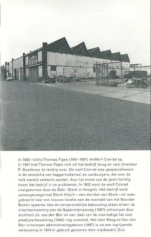 Spaarndamseweg 138 Haarlem. Uit: Gids voor industriële monumenten in Zuid-Kennemerland. 1996