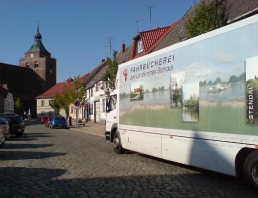 Boekenbus van de regio Stendal