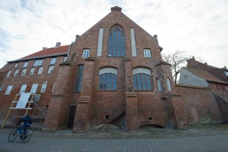 Stadsarchief van Stralsund, gevestigd in het voormalig Franciscanerklooster St. Johannis