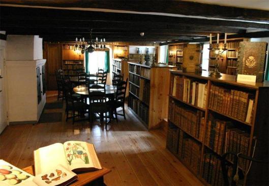 Bibliotheek van het stadsarchief Stralsund