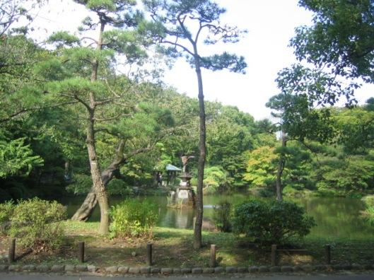 Kijkje in het keizerlijk park van Tokio