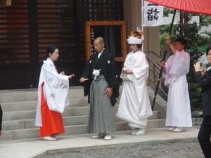 Rituelen bij een tradioneel huwelijk in Japanse stijl