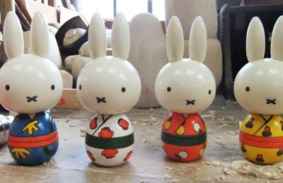 "Houten Miffy's ""made in Japan"""