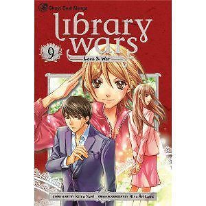 Comci library wars. Volume 9 series library love & war.