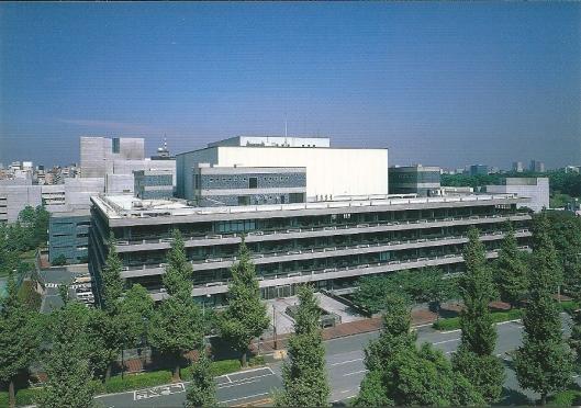 Hoofdgebouw van de National Diet Library van Japan
