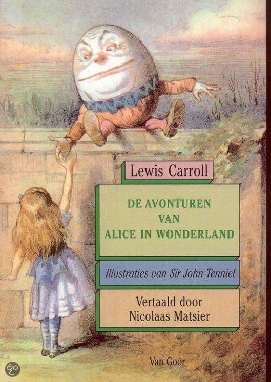 Door vergelijkende literatuurwetenschappers wordt het boek Erik vergeleken met 'Alice in wonderland' van Lewis Carroll