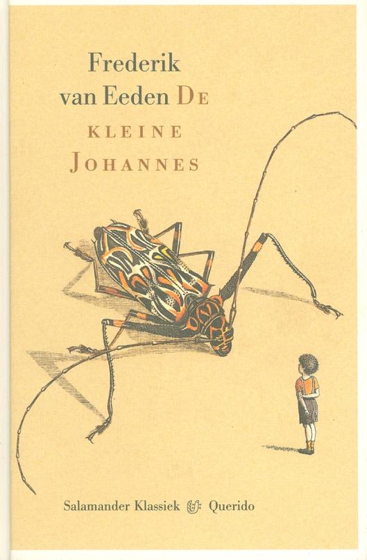 Vooromslag van een editie van 'de kleine Johannes' van Frederik van Eeden. Querido, 1999