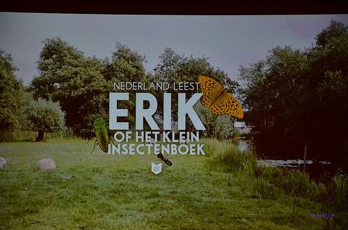 Voor de leescampagne 2013 van de CBNB is gekozen voor Godfried Bomans' Erik of het klein inectenboek
