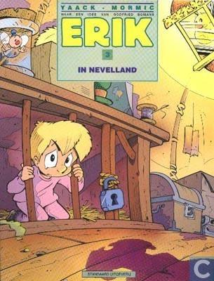 Voorzijde van stripboek Erik door Yaack