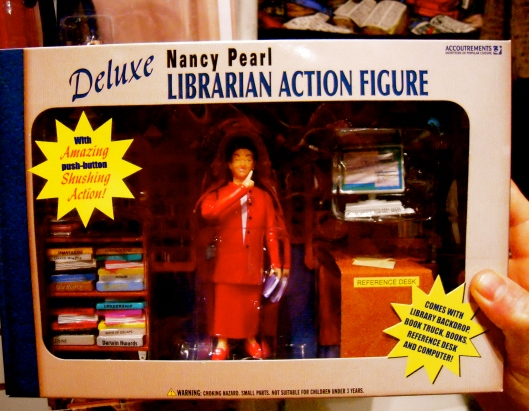 Nancy Pearl Library Action Figure