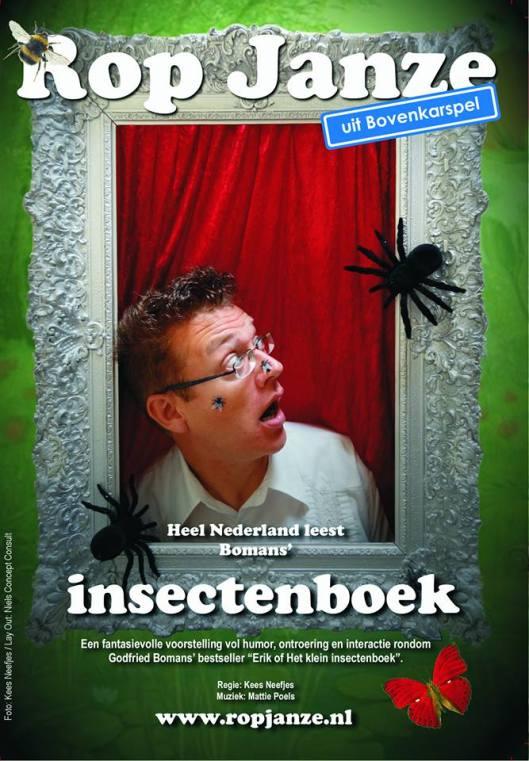 Top Janze leest uit Bomans' Erik of het klein insectenboek