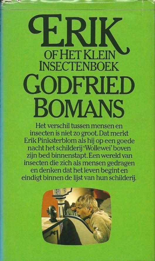 Vooromslag van veertigste druk van 'Erik of het klein insectenboek' Uitg. Het Spectrum. 1979.