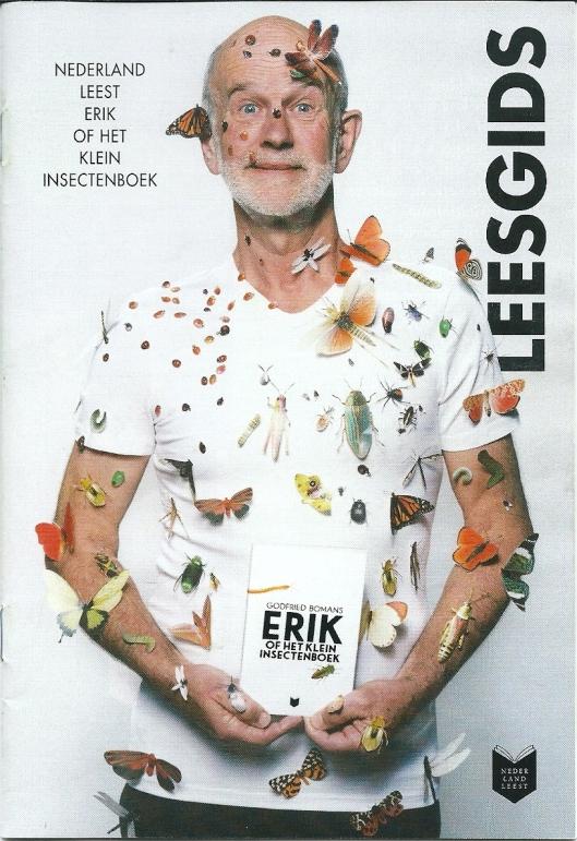 Vooromslag Leesgids: Nederland Leest Erik of het klein insectenboek