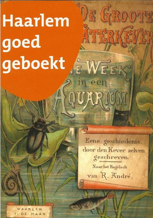 Antiek boek over kevers uit de oude boekerij van de Stadsbibliotheek Haarlem