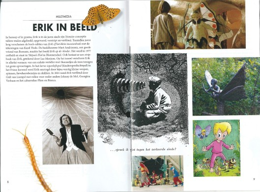 Erik in Beels (multimedia). Uit: Leesgids, samengesteld door CPNB en Just Enschedé