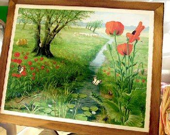 Schilderij van Wollewei