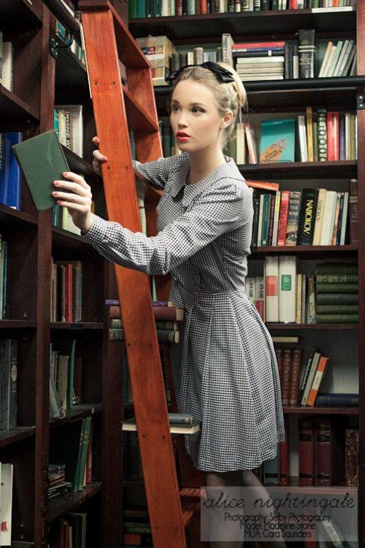 De bibliothecaresse; door Alicenightinagale