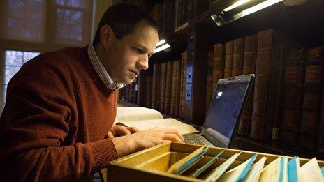 Dr.Ricard Ashdowne, eindredacteur van het woordenboek