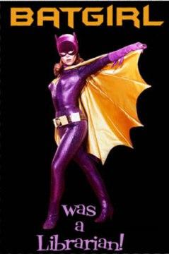 Batgirl was a librarian
