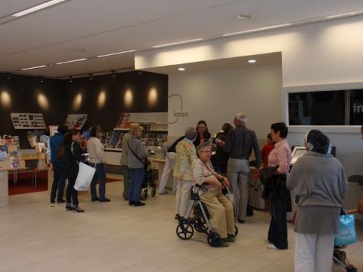 Uitleencentrum in de nieuwe bibliotheek