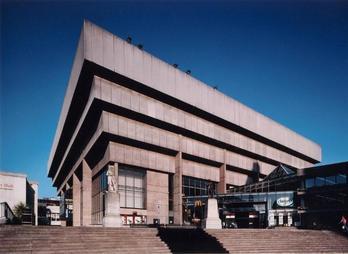 Het vorige (betonnen)bibliotheekgebouw van Birmingham, ontworpen door John Madon en van 1974 tot de verhuizing in 2013 als zodanig in gebruik geweest